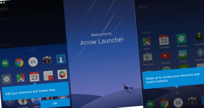 Arrow Launcher supporta ora il doppio tap per bloccare il dispositivo