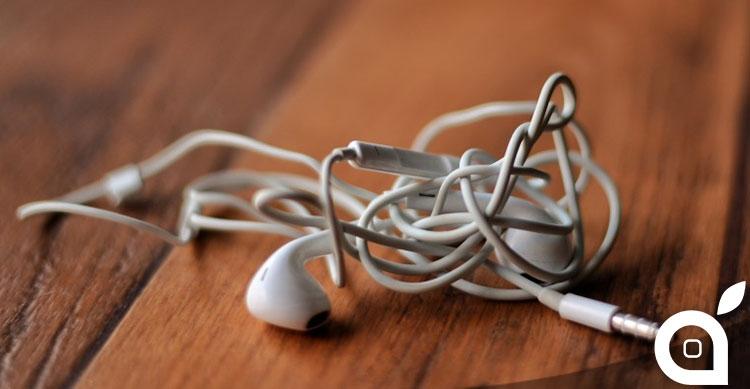 Quanto tempo impiegate a sbrogliare i cavi delle EarPods? Circa 3,5 giorni in tutta la vita