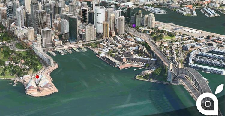 Aggiunte nuove città per la funzionalità Flyover di Mappe