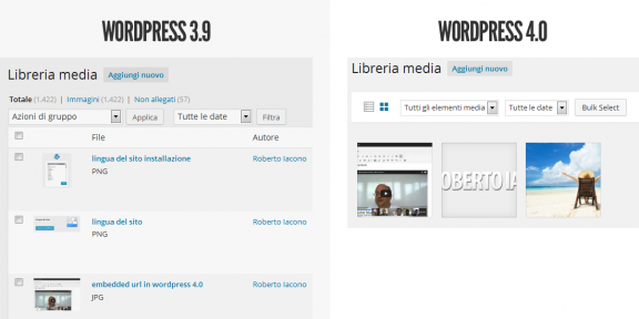 media wordpress 4