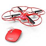 Drone quadricottero, giocattolo adatto anche ai bambini.