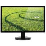 Monitor LED da 55 cm (21,5″), VGA, DVI, tempo di reazione: 5 ms, colore: Nero