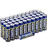 Confezione da 40 batterie alcaline VARTA
