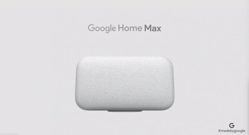 """C'è anche Google Home Max: uno """"spearkerone"""" da 399 dollari dedicato agli audiofili"""