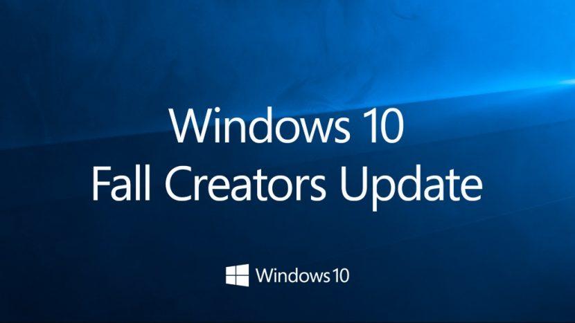 Disponibile da oggi il Fall Creators Update per Windows 10