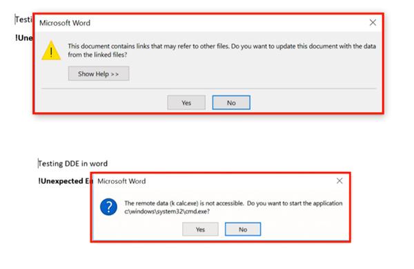 Scoperto un malware in Microsoft Word che permette di infettare i PC senza Macro