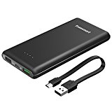 Power Bank,Tronsmart Batteria Esterna Quick Charge 3.0 da 10000mAh 30W Qualcomm