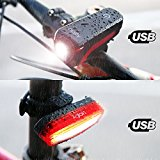 set di luci LED per bicicletta