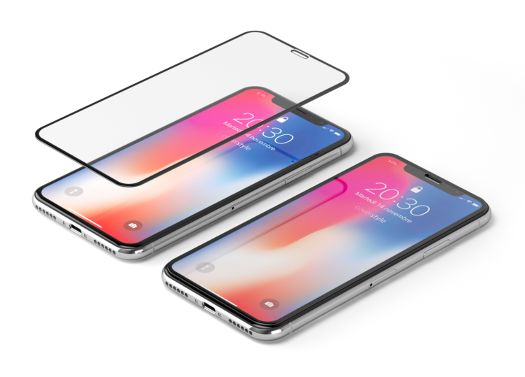 HyperGlass 3D PRO per iPhone X: il nuovo vetro temperato che protegge sensori e camera dalla polvere!