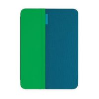 Logitech AnyAngle Custodia Protettiva con Supporto Inclinabile per iPad Mini, Verde/Verde Acqua