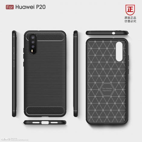 Huawei P20 Plus: tripla fotocamera, notch e display 'infinito' nei primi render (aggiornato: parziale smentita?)