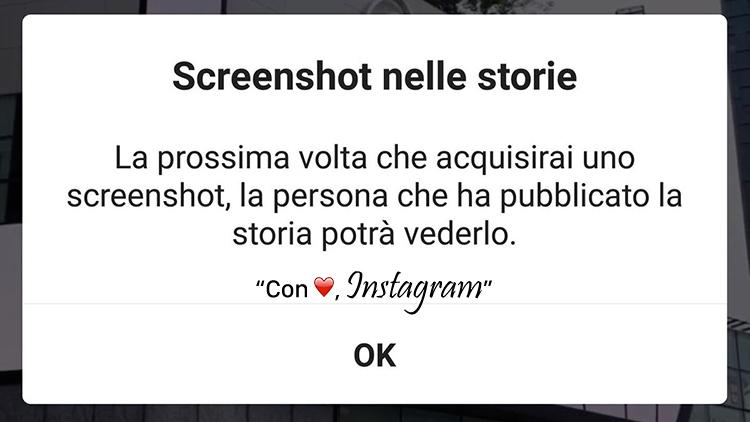 È crisi: ora su Instagram gli screenshot delle Storie non sono più anonimi, ma c'è già una soluzione