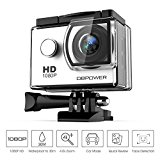 DBPOWER® Action Camera impermeabile 1080P HD 12MP