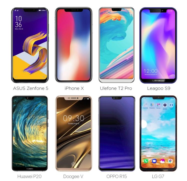 iPhone X, dopo essere stato criticato per il suo Notch, viene copiato da tantissimi produttori   Riflessioni MWC 2018
