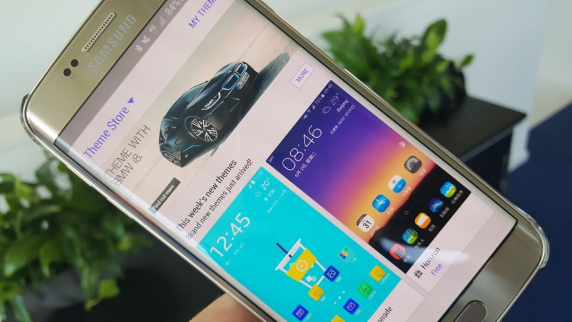 Samsung potrebbe iniziare a vendere custodie personalizzate sull'app dei temi (foto)