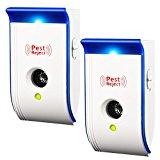 Repellente ad Ultrasuoni, Controllo dei Parassiti Repeller Elettronico, con Luce Notturna (Solo 50 Pezzi)