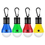 4 Lampadine da Campeggio a LED