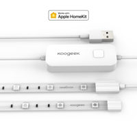 Striscia LED Koogeek con supporto HomeKit lunga 2 metri 16 milioni di colori dimmerabili