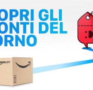 Le offerte Amazon del 13 Maggio e i nostri codici sconto | Scontiamolo.com