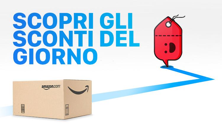 Le offerte Amazon del 6 Maggio e i nostri codici sconto | Scontiamolo.com