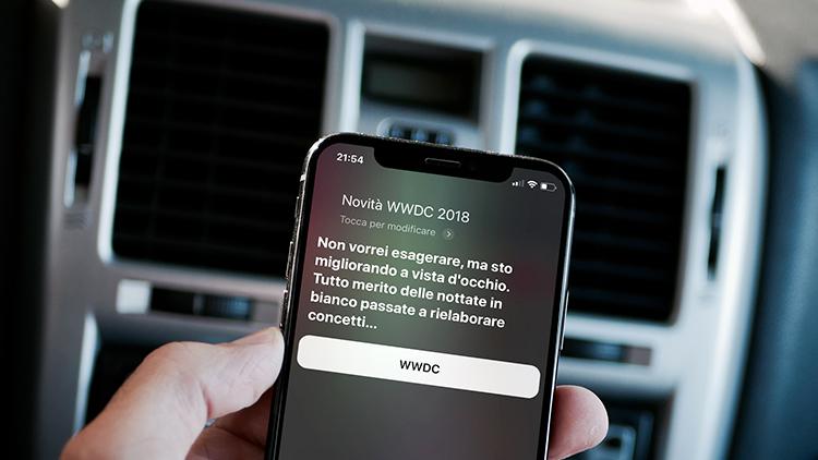 Siri svela alcune novità della WWDC 2018: Ecco cosa troveremo in iOS 12