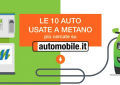 Il metano su internet: la classifica di Automobile.it