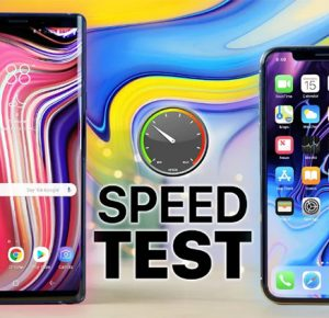 iPhone X e il nuovo Galaxy Note 9 si sfidano in uno speed test [Video]
