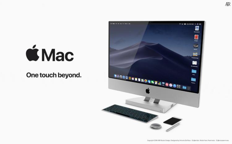 Il Mac del futuro immaginato in uno stupendo concept di un designer italiano [Video]