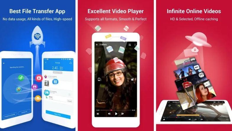 SHAREit per Android si aggiorna: performance migliorate per Nougat e Oreo ed aggiunto il cambio lingua
