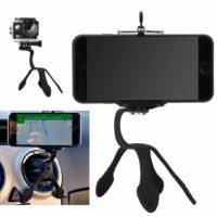 UliX Poseidon – Supporto Universale, Portatile e Flessibile per Smartphone e Go Pro