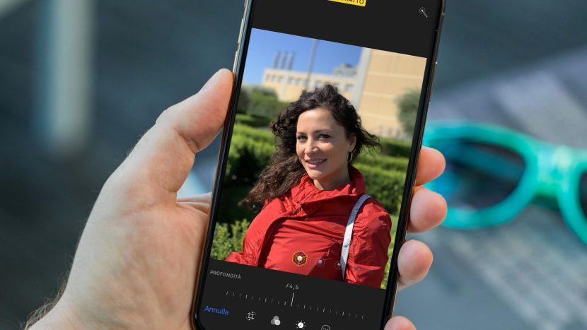 Ecco la modalità ritratto dei nuovi iPhone XS e come modificare la profondità