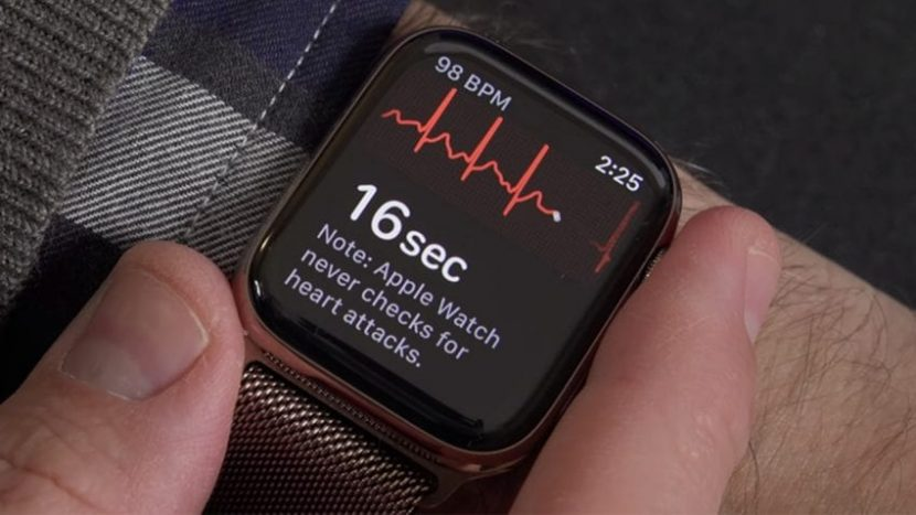 L'ECG di Apple Watch Serie 4 ha già salvato una vita