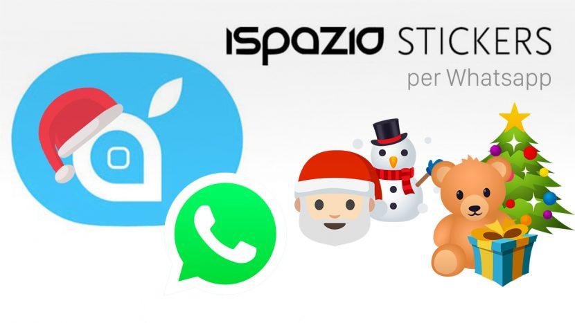 Ecco gli iSpazio Stickers di Natale da aggiungere a Whatsapp [Download]