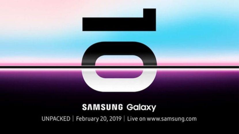 Galaxy S10, Samsung annuncia la data di presentazione
