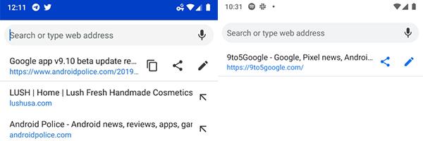 Google Canary Beta: Novità per la condivisione degli URL