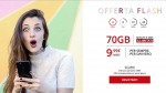 Nuova offerta flash per Iliad: 70GB, minuti ed SMS illimitati a 9,99€ per sempre
