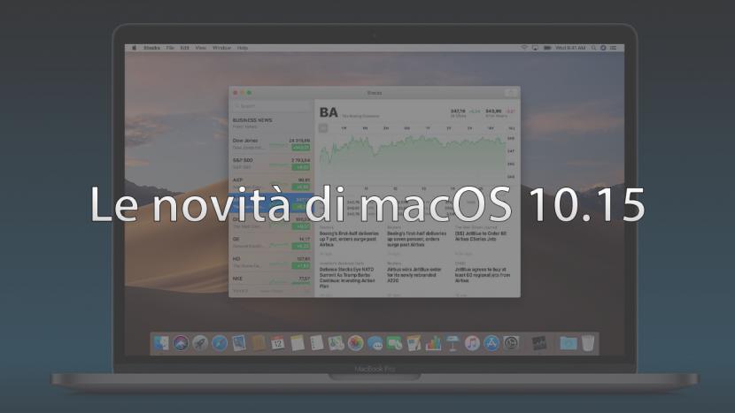 macOS 10.15: Scorciatoie di Siri, tempo di utilizzo ed altre funzioni di iOS in arrivo su Mac