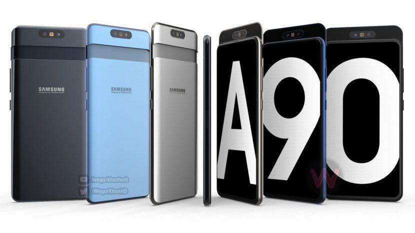 Con tutta probabilità Samsung Galaxy A90 avrà una fotocamera unica e ribaltabile (foto e video)