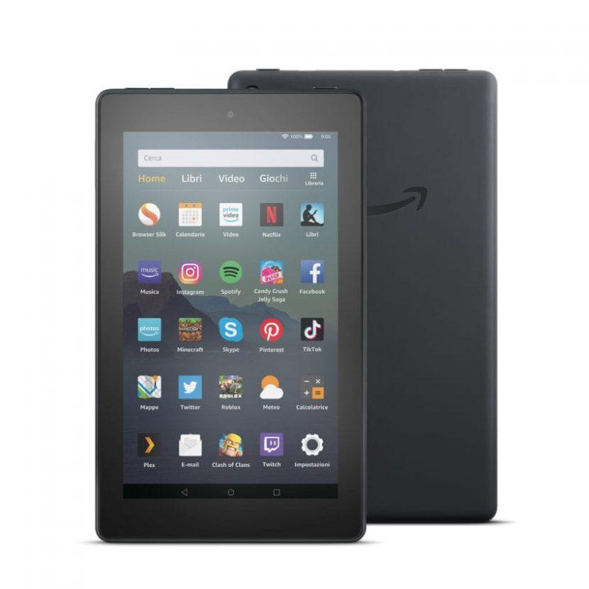 Amazon lancia il nuovo tablet Fire 7: processore più veloce, 16GB espandibili, sempre a 69,99€