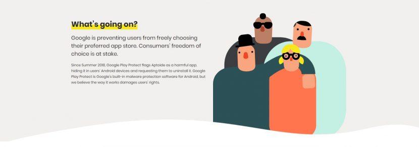 """Aptoide contro Google: lanciata la campagna """"Google, Play Fair!"""""""