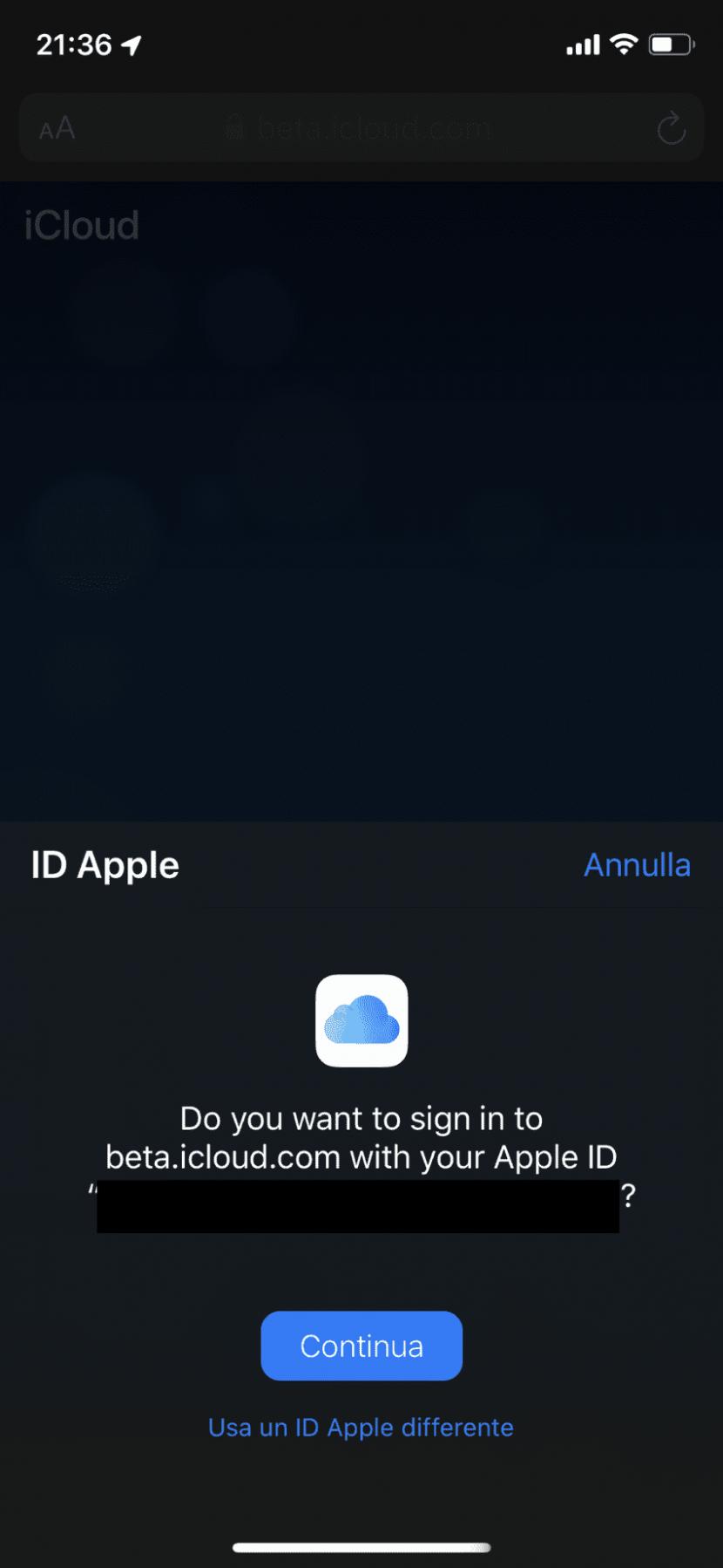 Apple testa l'accesso con Face ID e Touch ID per iCloud su iOS 13 e macOS Catalina beta