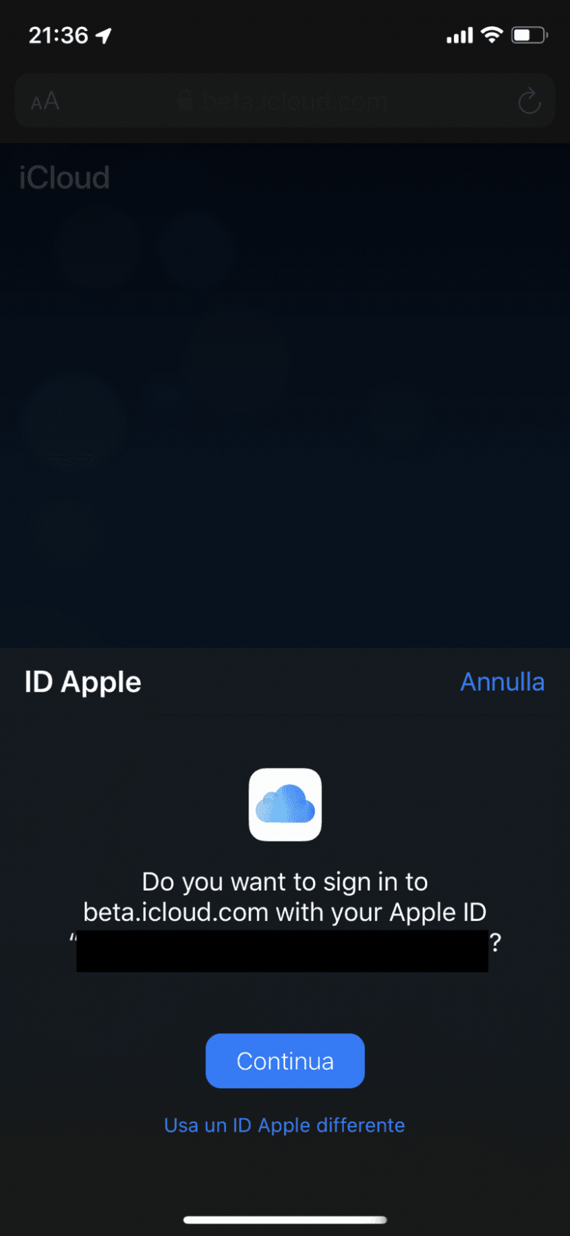 Apple testa l'accesso con Face ID e Touch ID per iCloud su iOS 13 e macOS Catalina beta