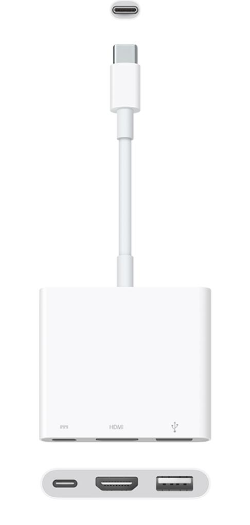 Apple rilascia la nuova versione dell'adattatore multiporta da USB-C ad AV digitale