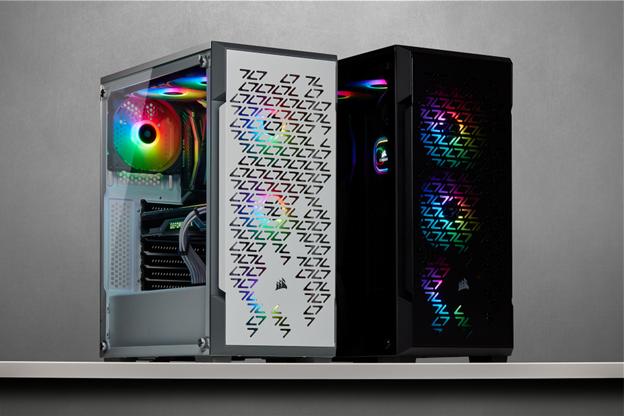 CORSAIR presenta lo smart case CORSAIR iCUE 220T RGB e le ventole iCUE SP RGB PRO