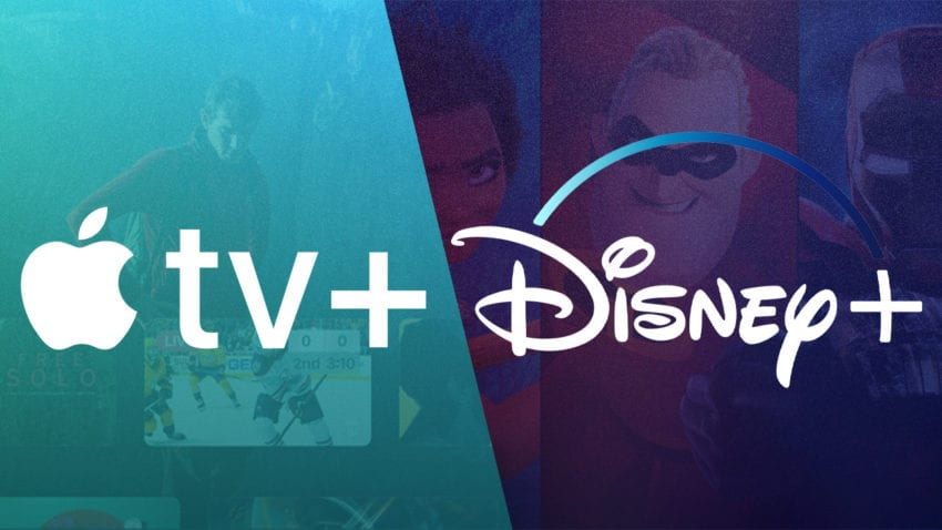 Apple TV+ vs disney+
