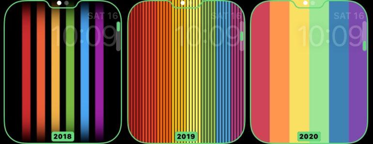 Apple Watch: Ecco i nuovi quadrati Pride [Aggiornamento]