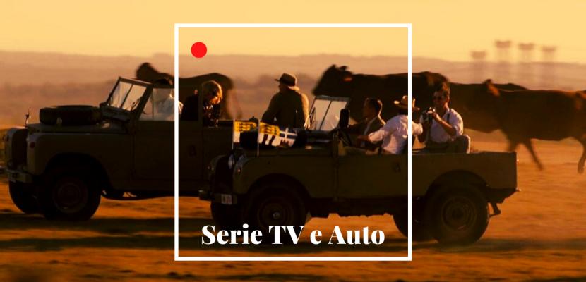 """Le auto """"cult"""" protagoniste delle serie tv italiane e straniere"""
