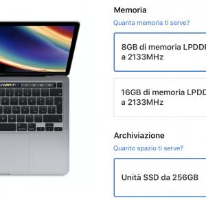Apple raddoppia il prezzo dell'aggiornamento della RAM sul MacBook Pro da 13 pollici entry-level