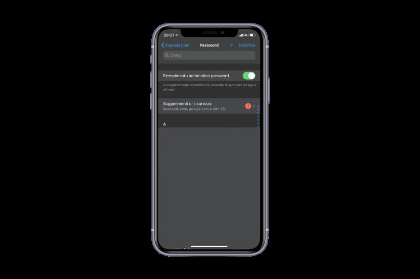 iOS 14: il portachiavi iCloud ora avvisa gli utenti su password trapelate e altro