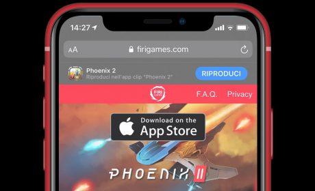 Disponibile la demo di Phoenix 2 grazie alla funzione App Clips